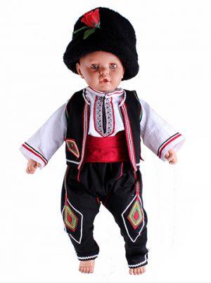 Детска народна носия за момче с ширити и бродерия
