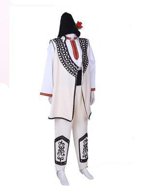 Детска шопска народна носия за момче с ширити и гайтани от пет части
