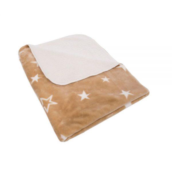 Kikka Boo Бебешко одеяло с шерпа STARS