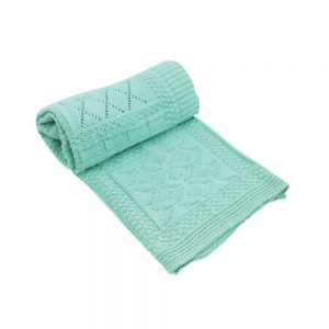 Kikka Boo Бебешко плетено одеяло GEOMETRY