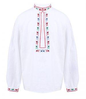 Детска народна риза за момче с бродерия
