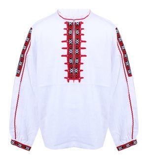 Детска народна риза с ширити и бродерия