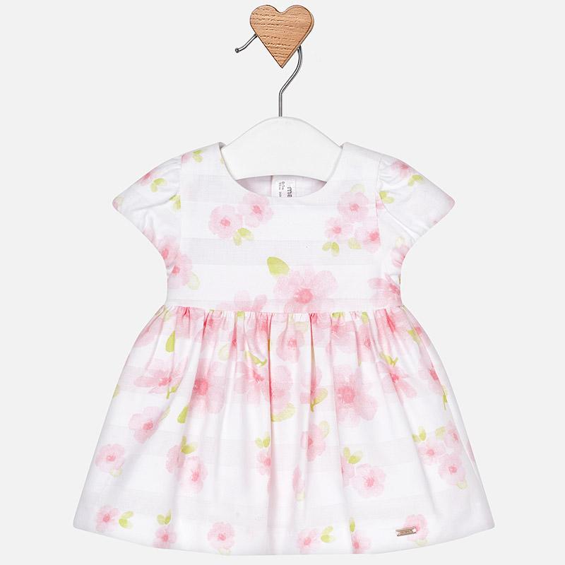 ef4450ec712 Официална бебешка рокля на цветя от колекция Пролет- Лято 2019 на MAYORAL.