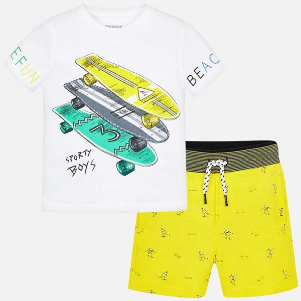 Детски трикотажен комплект за момче от колекция Пролет- Лято 2019 на MAYORAL.
