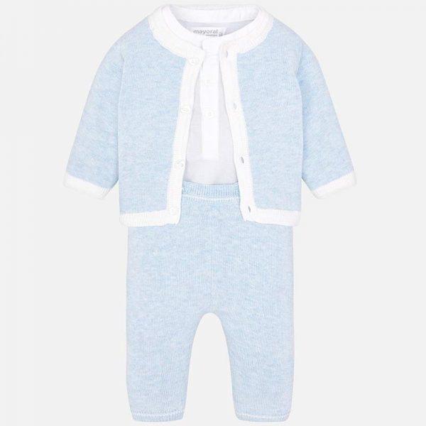 Комплект за изписване за момче от колекция Пролет- Лято 2019 на MAYORAL в синьо