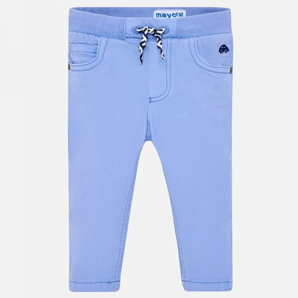 Бебешки панталон за момче на ластик от колекция Пролет- Лято 2019 на MAYORAL в синьо