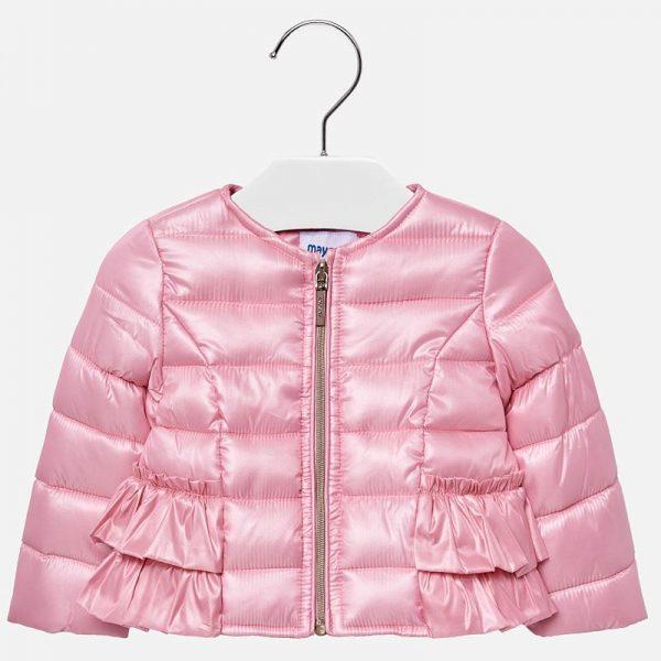 Бебешко пролетно яке за момиче от колекция Пролет- Лято 2019 на MAYORAL в розово.