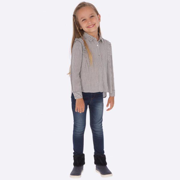 Детски дънков клин за момиче с коригираща талия от колекция Есен- Зима 2018/2019 на MAYORAL