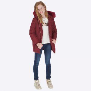 Юношески дънков клин в светъл деним за момиче с коригираща талия от колекция Есен- Зима 2018/2019 на MAYORAL