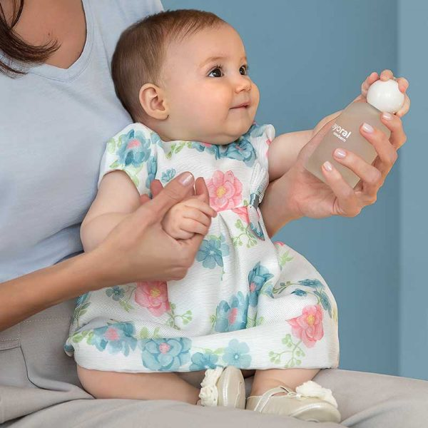 Бебешка официална рокля на цветя с гащички от Колекция Пролет- Лято 2020 на MAYORAL