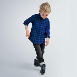 Детски еластични дънки за момче в черно от Колекция Есен- Зима 20/21 на MAYORAL