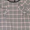 детска рокля в каре